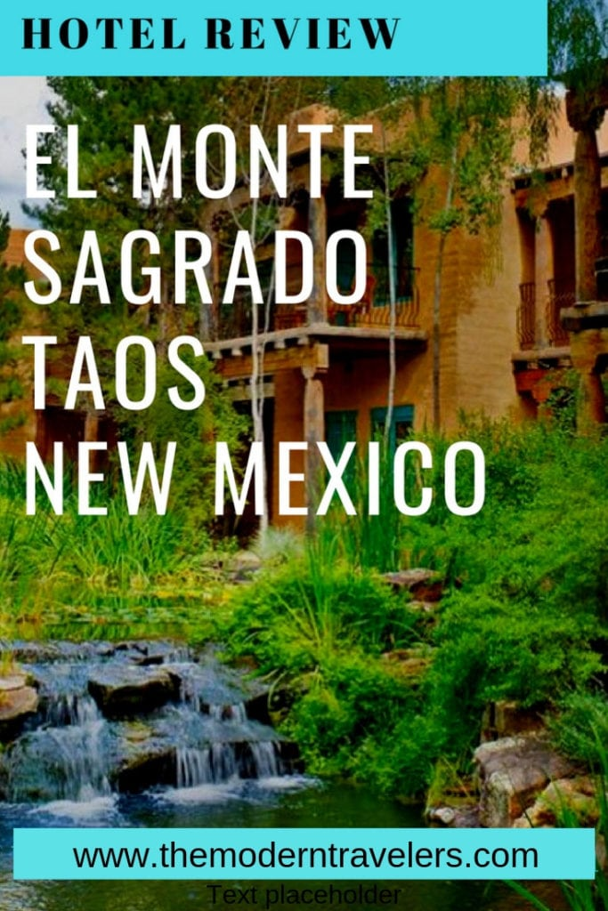 El Monte Sagrado Hotel is the place to stay in Taos. If New Mexico is The Land of Enchantment, this is the hotel-embodiment of that. The second you walk into the lobby, this place is mesmerizing. El Monte Sagrado Hotel Review, Where to stay in Taos New Mexico, Best Hotel in Taos New Mexico