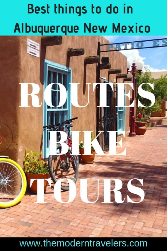 Routes bike tours are a great way to get a different perspective of Albuquerque New Mexico. We had a blast on our tour and it was the highlight of our trip. Things to do in Albuquerque, Bike riding tours in Albuquerque New Mexico.