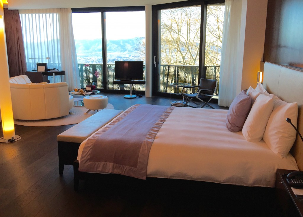 Dolder Grad Hotel Zurich Review. I would fly across the ocean for two days at this amazing hotel, it's worth any effort to go. I would say there is no chance of disappointment here. My stay was flawless. Where to stay in Zurich Switzerland, Best hotel in Zurich.