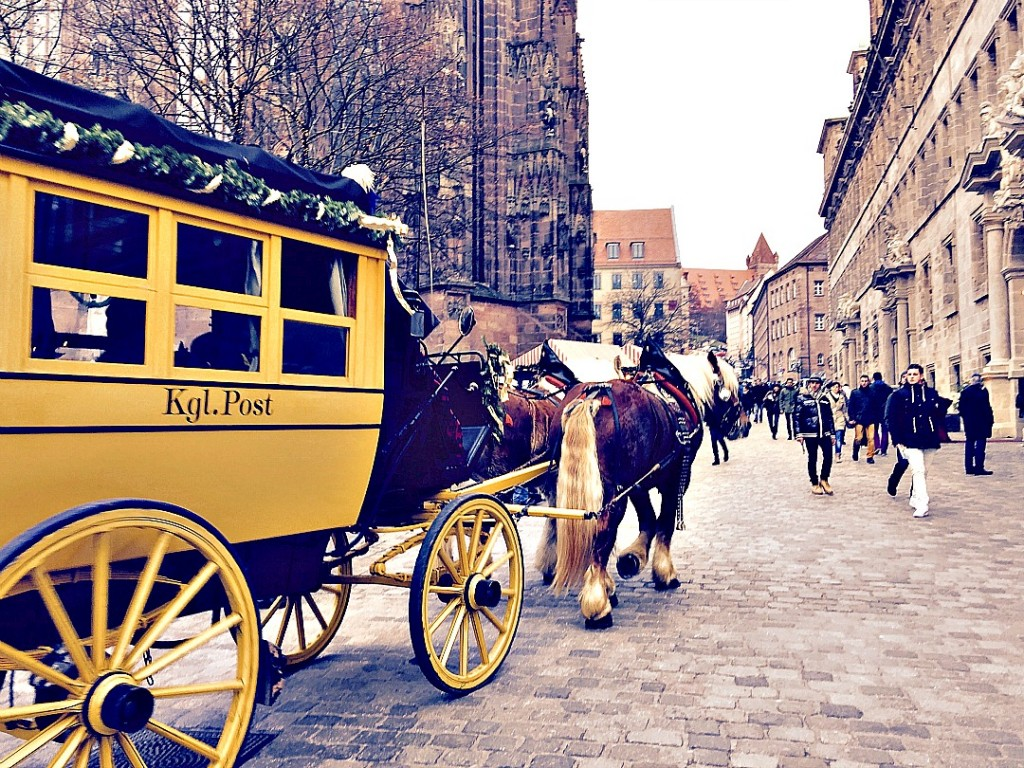 nuremberg christmas market mail coach1080