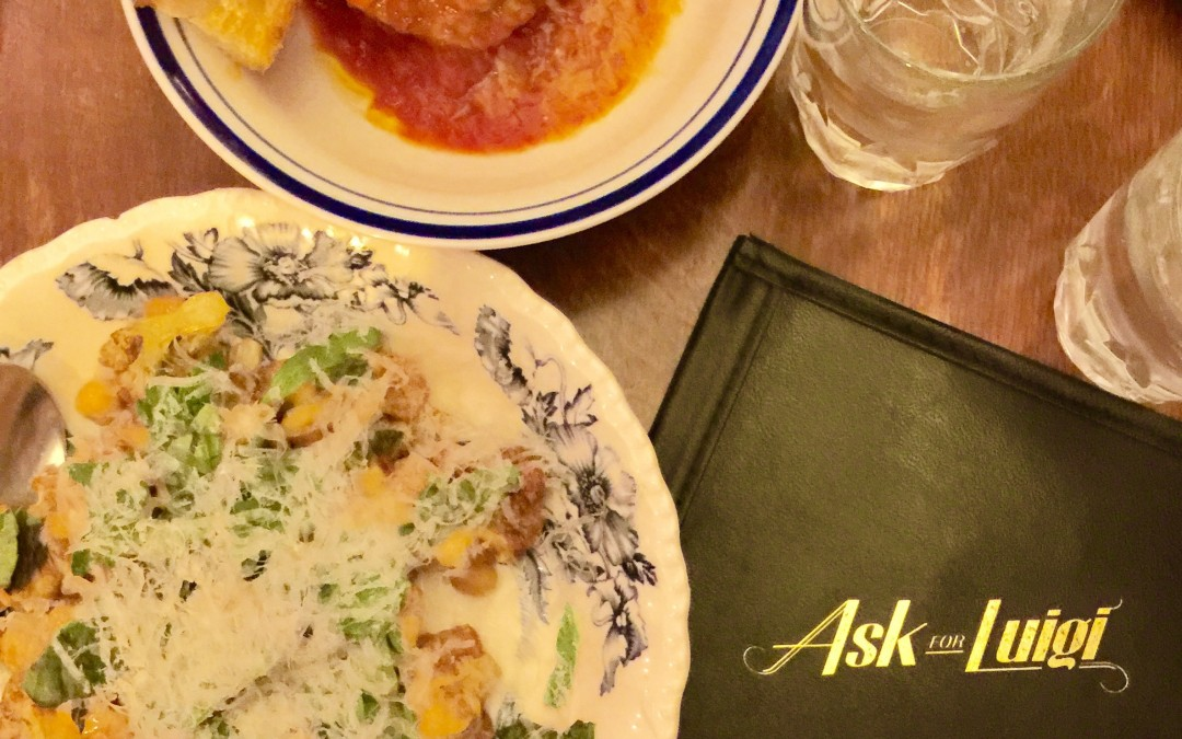Ask For Luigi Italian Restaurant Review, Vancouver BC