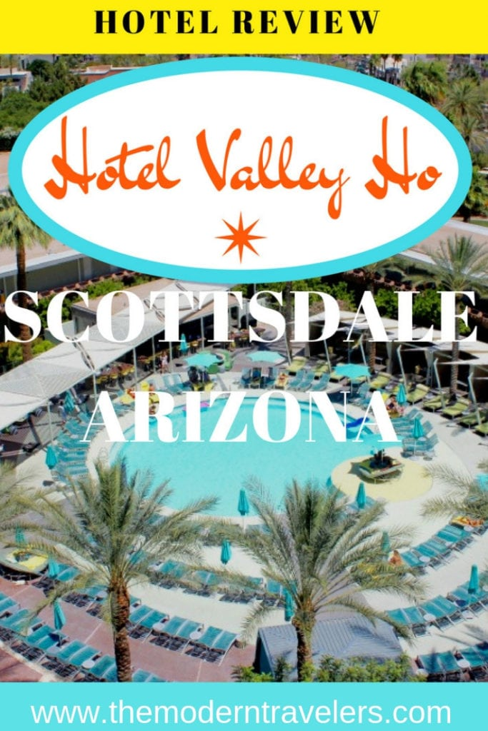 Hotel Valley Ho in Scottsdale, Arizona is one of my favorite hotels in the world and a must for a visit to Scottsdale. Mid Century Modern design is a delight. Hotel Valley Ho Review, Where to stay in Scottsdale, Arizona, Best Hotels in Scottsdale.