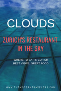 Clouds: Zurich Switzerland, Where to EAT in Zurich, Best Views in Zurich, Things to do in Zurich