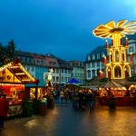 Christmastime in Heidelberg, Germany