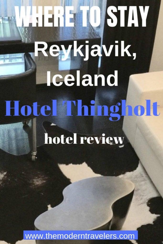 Hotel Thingholt Reykjavik, Iceland, Where to Stay in Iceland, Luxury Hotel Reykjavik Iceland, My favorite hotel in Reykjavik