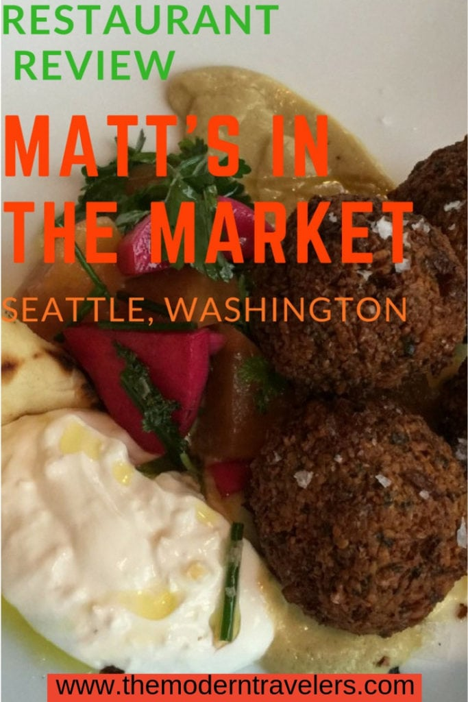 Matt's in the Market is located in Seattle's Pikes Place Market and offers fine dining quality in a relaxed affordable setting. Where to eat in Seattle, best food in Seattle, things to do in Seattle.