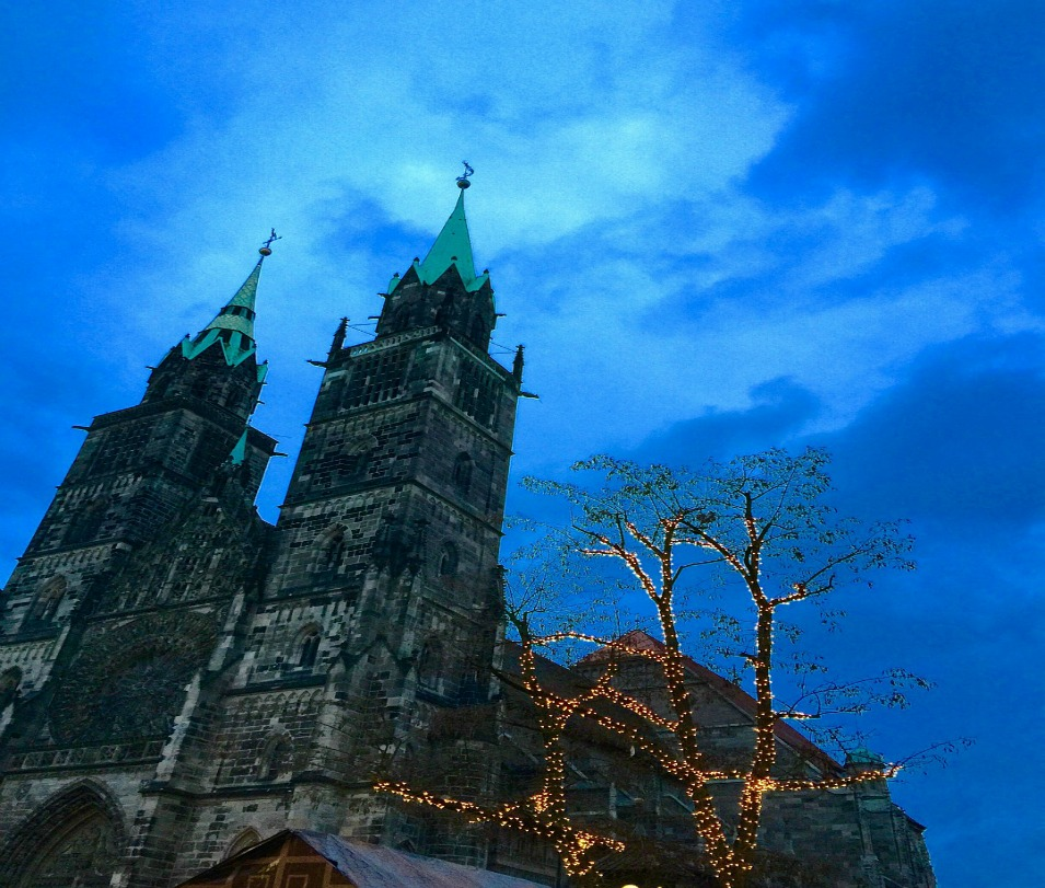 nuremberg christmas ambiance twilight