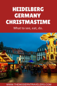 Heidelberg Germany Christmas Market: What to See, What to Eat, What to Do, Chirstmas Travel, Germany Travel