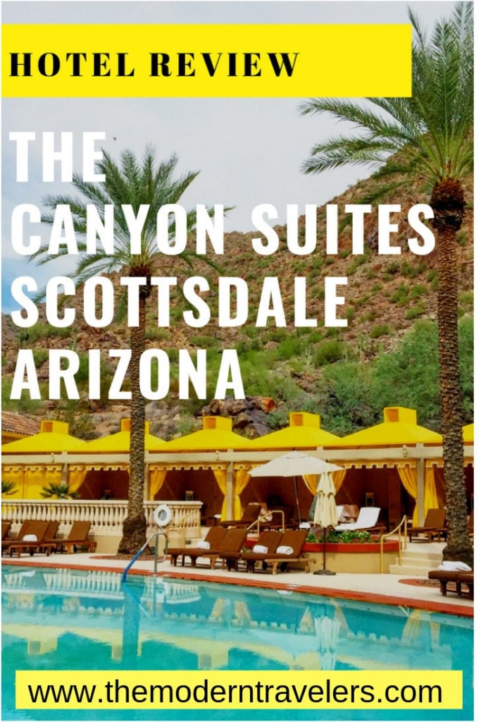 Canyon Suites Hotel Scottsdale Arizona Review. The Canyon Suites in Scottsdale, Arizona is a Five Star-Five Diamond resort within a resort. It's one of the most peaceful hotels I've ever enjoyed. Where to stay in Scottsdale, best luxury hotel Scottsdale.