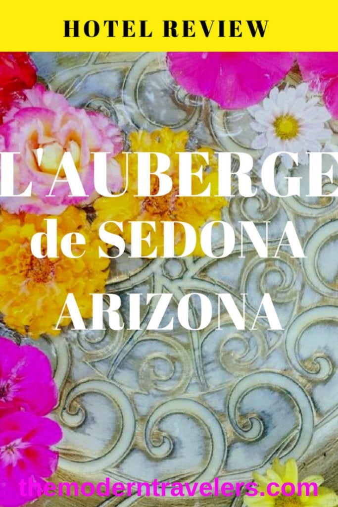 L'Auberge de Sedona is an excellent choice for accommodations in Sedona, Arizona, and THE place to stay for people visiting with dogs. L'Auberge de Sedona Review, Sedona Arizona Luxury Hotels, Where to stay in Sedona, Best Hotels in Sedona.