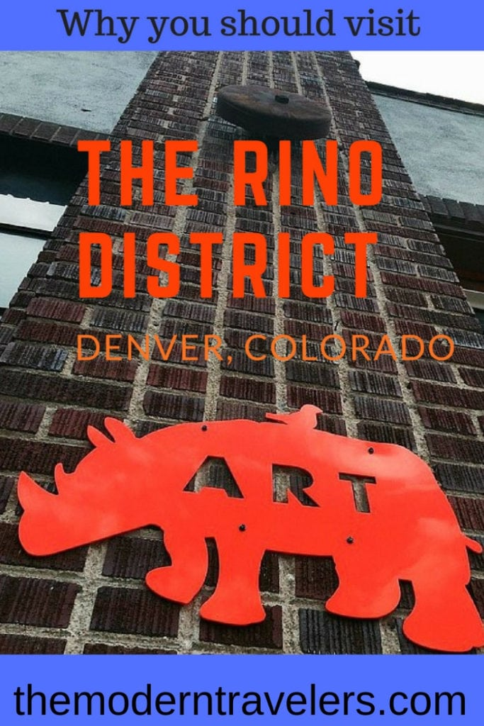One of the wonderful things about Denver is all the distinctly different neighborhoods. RiNo, aka River North is one to explore. Why you should visit Denver's Rino District. Things to do in Denver, Colorado @visitdenver @visitcolorado