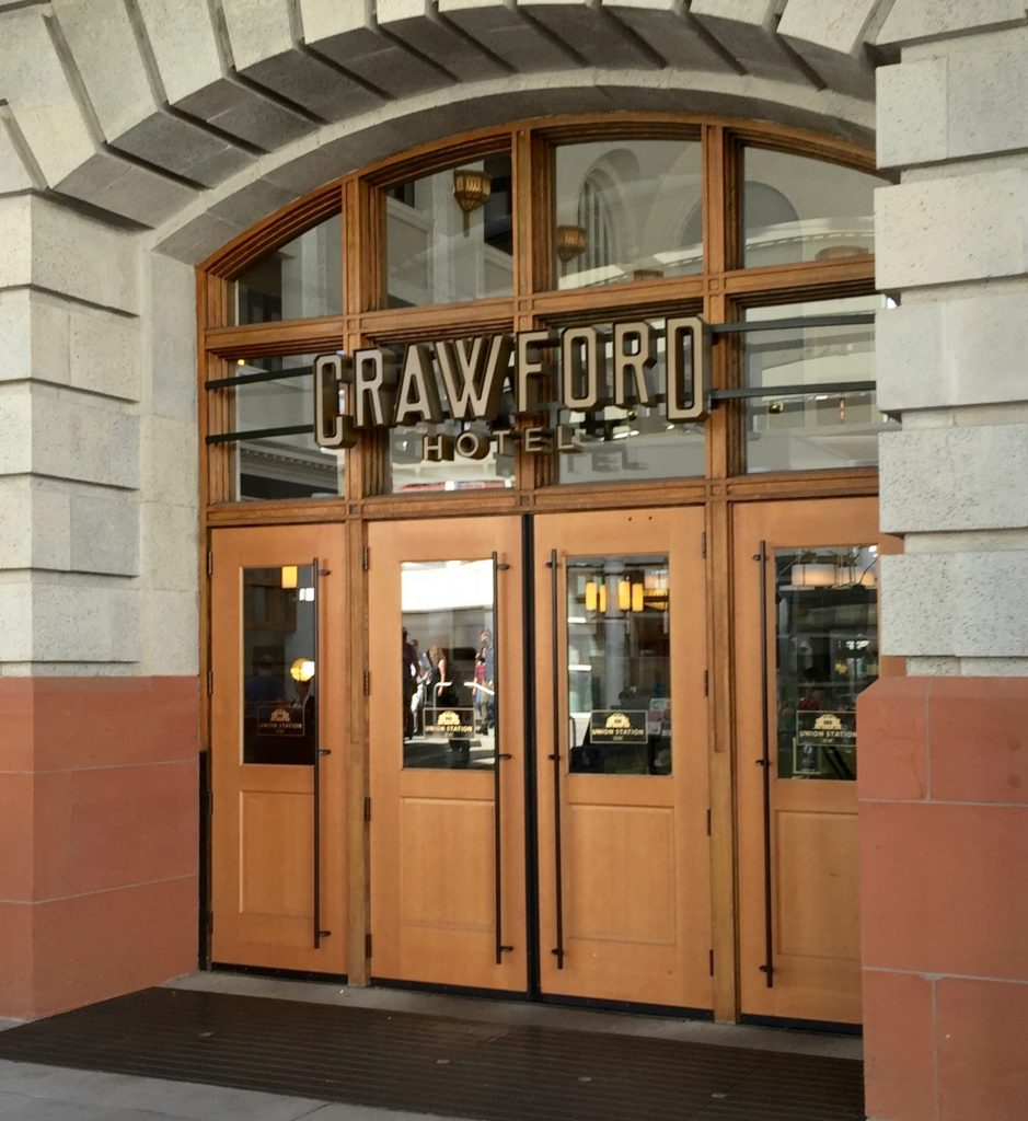 The Crawford Hotel Denver, Colorado Review. The Crawford is a unique, spectacular luxury hotel in my favorite Denver location: Denver Union Station. This hotel is an absolute must for your Denver holiday. Where to stay in Denver, What to do in Denver, Best hotels in Denver Colorado.