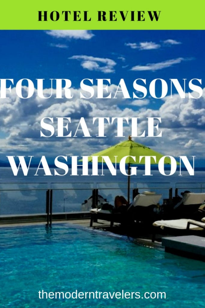 Four Seasons Hotel Review Seattle, Where to stay in Seattle, Best hotel Seattle, Best Swimming Pool Seattle, Things to do in Seattle