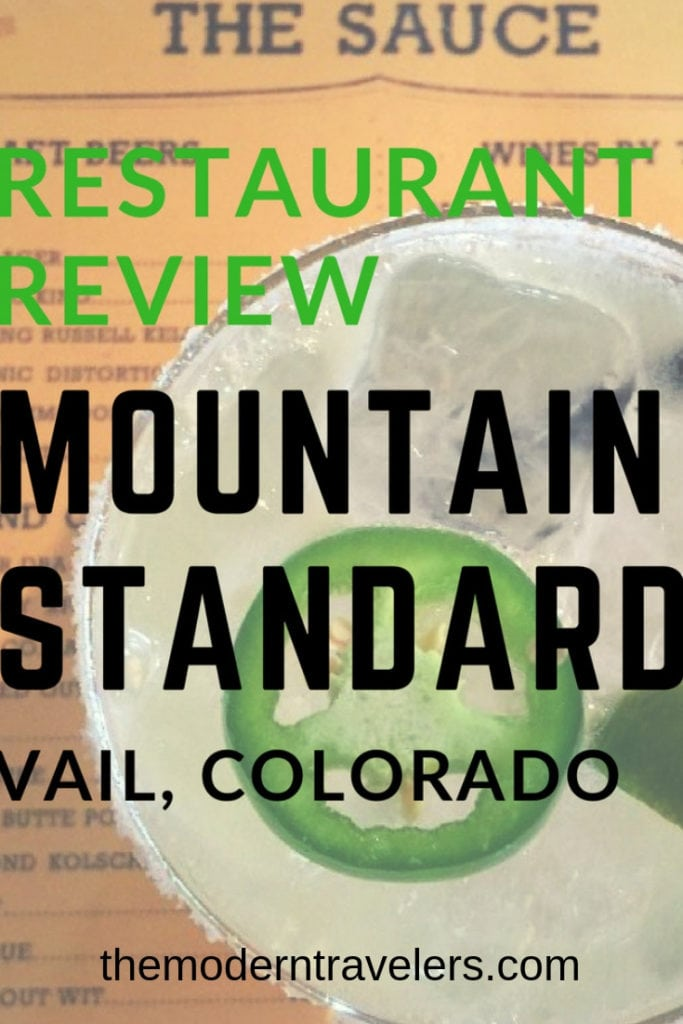 Restaurant Review: Mountain Standard Vail Colorado. We are still taking about the amazing meal we had here. Everything is cooked over an open flame and it smells wonderful. There's outdoor seating on the patio, and cozy indoor seating. Can't go to Vail without eating at Mountain Standard! Where to eat in Vail, What to do in Vail, Best things to do in Vail, best restaurants in Vail Colorado.