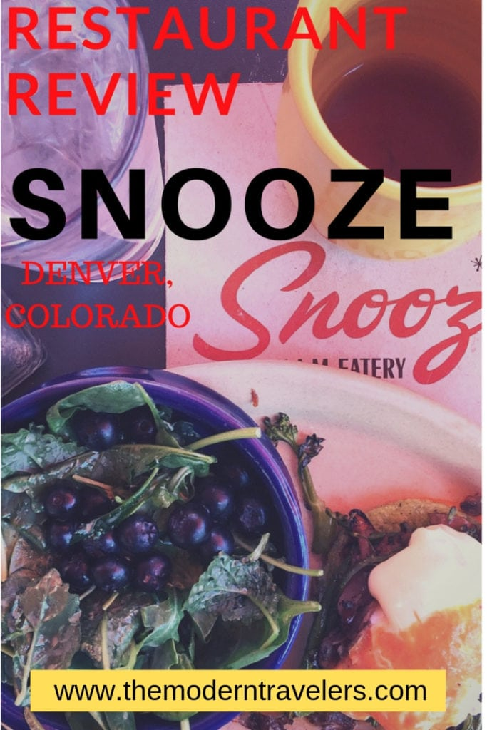 Snooze Denver Restaurant Review, Where to eat in Denver, Best Brunch in Denver