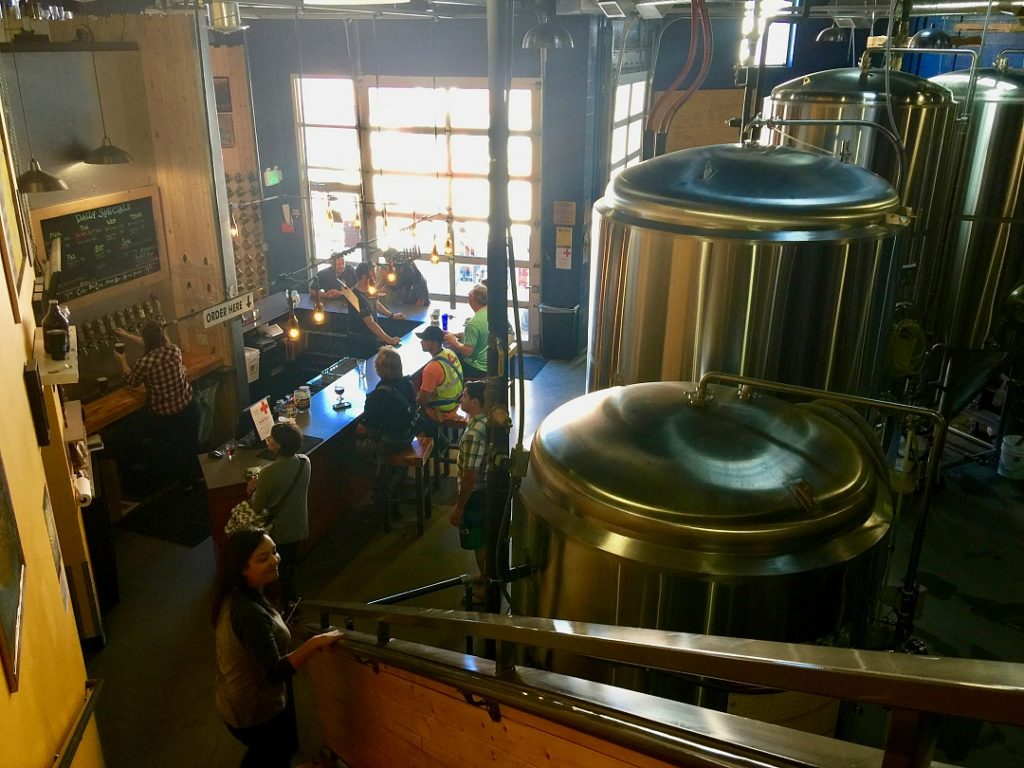Boise Brewing is an unassuming microbrewery that has the best beer I've ever tasted. Located in downtown, it's cozy and very local-owned by the community. Where to drink beer in Boise, Idaho. Best craft beer in boise, things to do in Boise, Microbreweries in Boise.