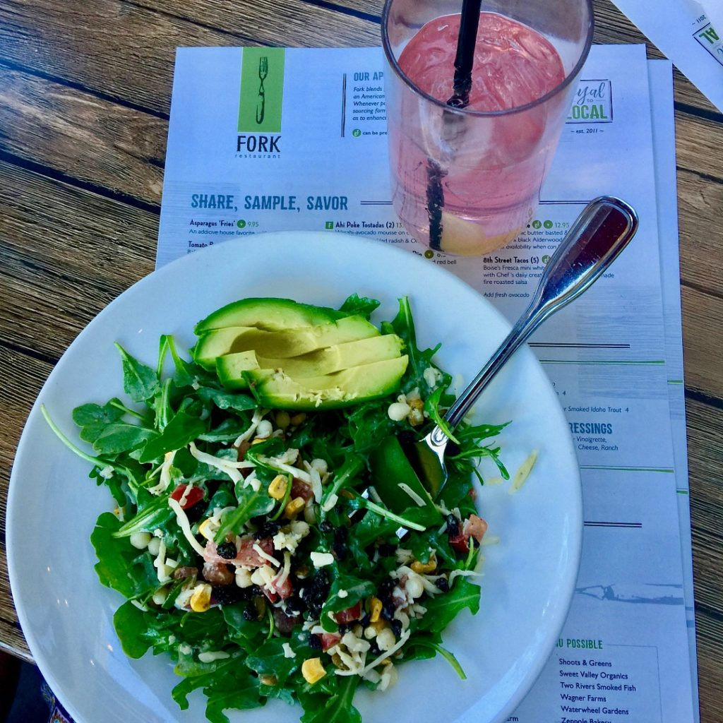 Fork is a Farm to Table restaurant in downtown Boise with a Loyal to Local philosophy. The food is spectacularly good, fresh and satisfying.. Where to eat in Boise Idaho, Best restaurants in Boise, Fork Boise Review, Farm to Table Food in Boise, Idaho.