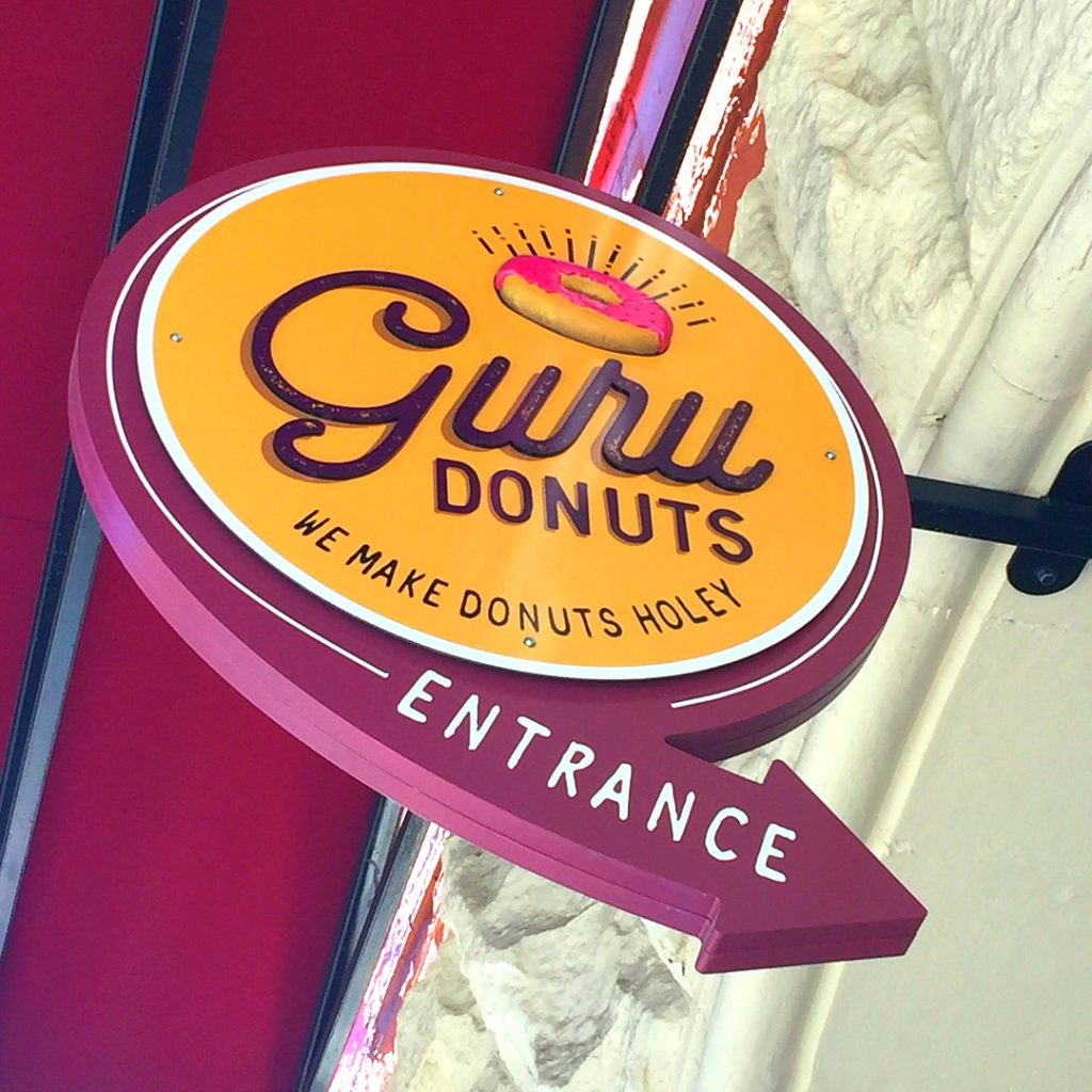 Guru Donuts Boise, Where to Eat in Boise Idaho, Best food in Boise, Things to do in Boise, Farm to Table Donuts in Boise