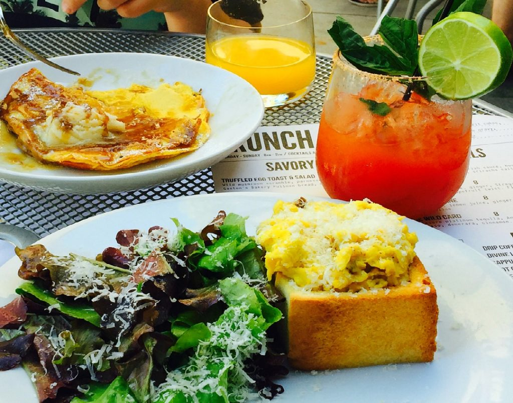 Brunch: Modern Hotel and Bar, Boise. Brunch at the Modern is an internationally inspired adventure and culinary masterpiece. It's a Boise must for foodies. Where to eat in Boise, Idaho, Best brunch in Boise, where to eat in Boise, Best Food in Boise, Farm to Table food in Boise.