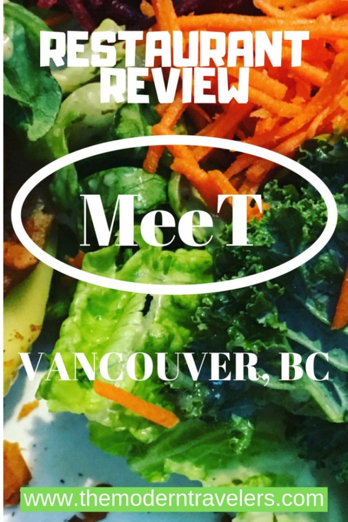 MeeT, Vancouver BC is a vegetarian restaurant in charming Gastown. Especially lovely in the summer on the patio, MeeT has amazing Cauliflower wings! Where to eat in Vancouver, Vegetarian Vancouver BC, Best Vegan Restaurants in Vancouver, What to do in Vancouver