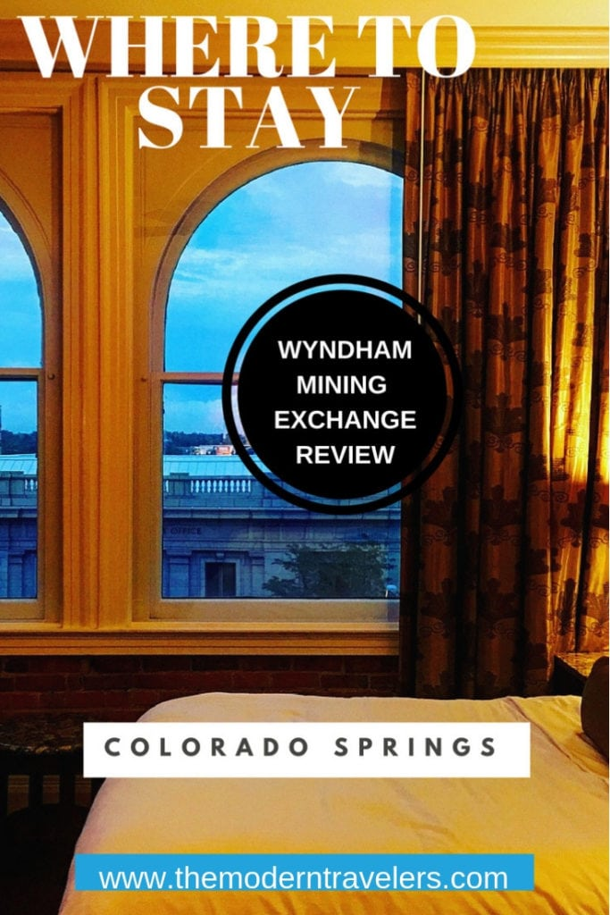 Wyndham Mining Exchange review Loved this luxurious historic hotel in downtown Colorado Springs! It was once an actual gold mining exchange--how cool is that!? @wyndhamhotelsandresorts @wyndhamhotels where to stay in colorado springs best hotels colorado springs colorado luxury hotel colorado springs luxury