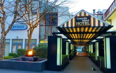 Granville Island Hotel, Vancouver BC