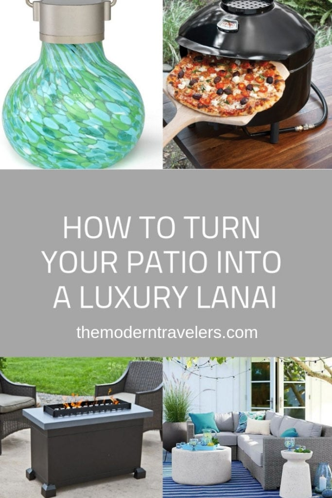 How to turn your Patio into a Luxury Lanai. Patio Design. Outdoor Living.