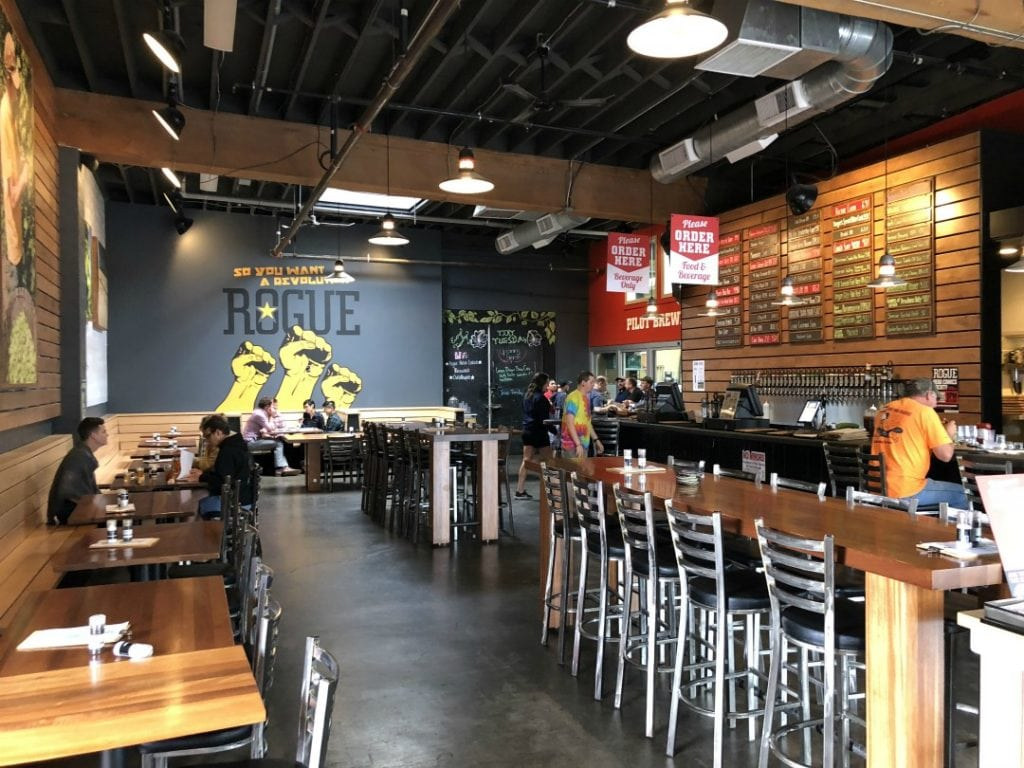 Rogue Pearl Public House, Portland Where to eat and drink in Portland, Best beer in Portland, Oregon, Portland Brewpubs, What to do in Portland, Best things to do in Porltand- The Modern Traveler