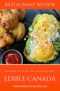 Edible Canada Restaurant Review. Edible Canada on Granville Island in Vancouver BC offers the ultimate introduction to local Canadian Food. Where to eat in Vancouver, Best restaurants in Vancouver, Where to eat on Granville Island, Best things to do in Vancouver, Things to do on Granville Island.