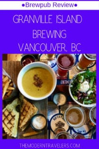 Granville Island Brewing Review, Brewpubs Vancouver BC, Where to eat and drink in Vancouver BC, Best Beer In Vancouver, BC, Best things to do on Granville Island.