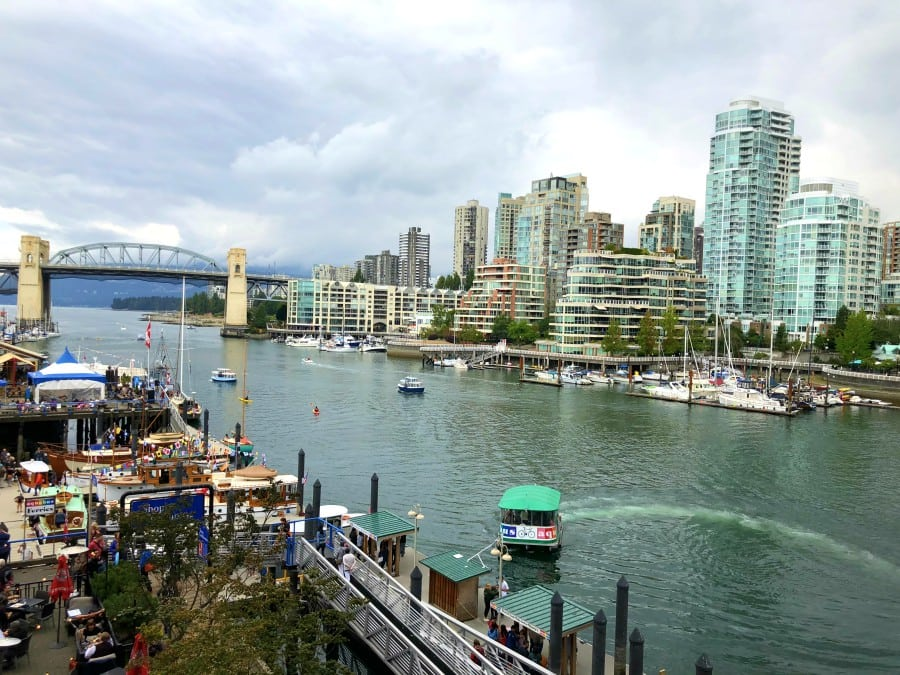 The Sandbar on Granville Island is a Vancouver must. Famous for seafood and sushi, this restaurant has some of the best views in the city. Where to eat in Vancouver. Best restaurants in Vancouver, best things to do in Vancouver, Best things to do in Granville Island Vancouver BC, Restaurant review The Sandbar Vancouver