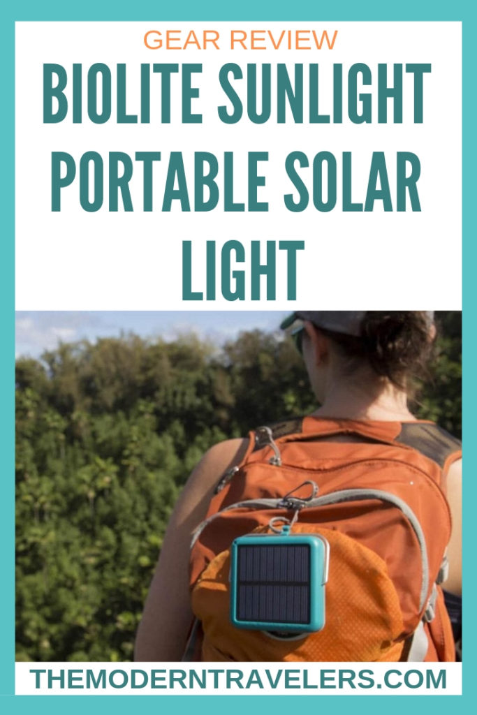 BioLite SunLight Portable Solar Light Review, Solar Light for Camping and Travel, Camping Gear, Travel Gear