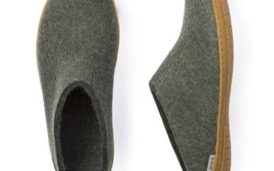 Glerups Felt Slippers: Farm to Foot Comfort