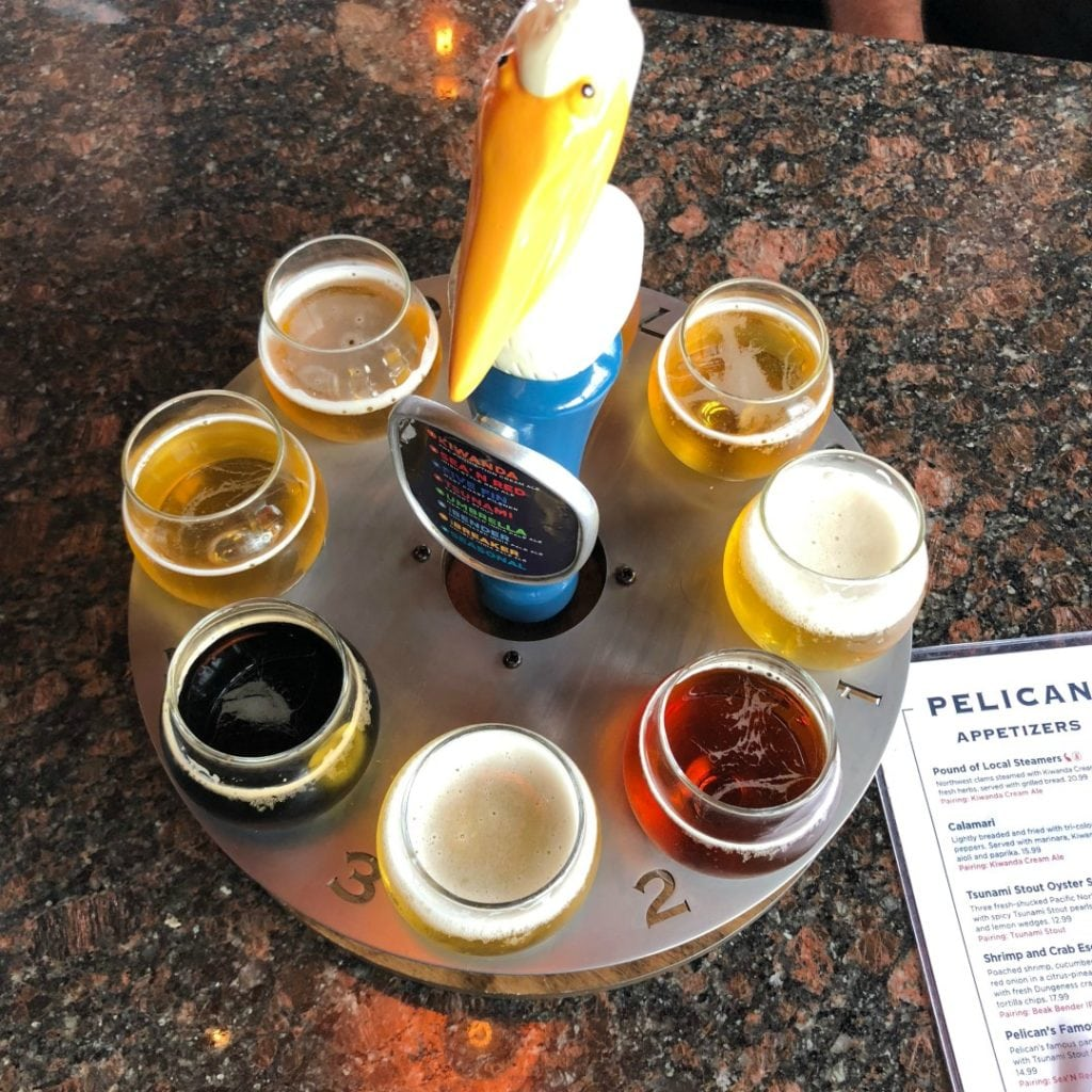Pelican Brewing Brewpub Review. Things to do on the Oregon Coast, Where to eat in Pacific City, Craft Beer on the Oregon Coast.