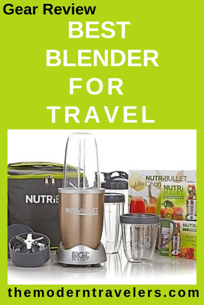 Nutribullet Pro Review, Nutribullet Blender Review, Best Blender for Travel, Travel Blender, Smoothie Blender for Travel, Healthy Travel