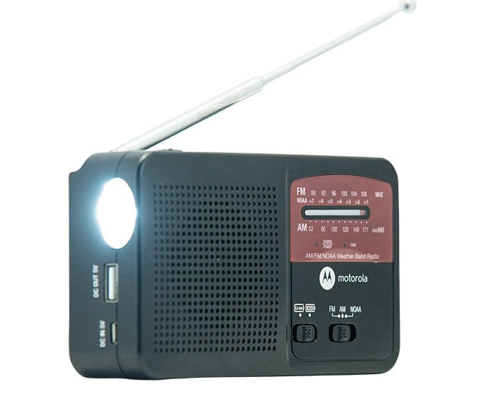 Motorola Camping Gear