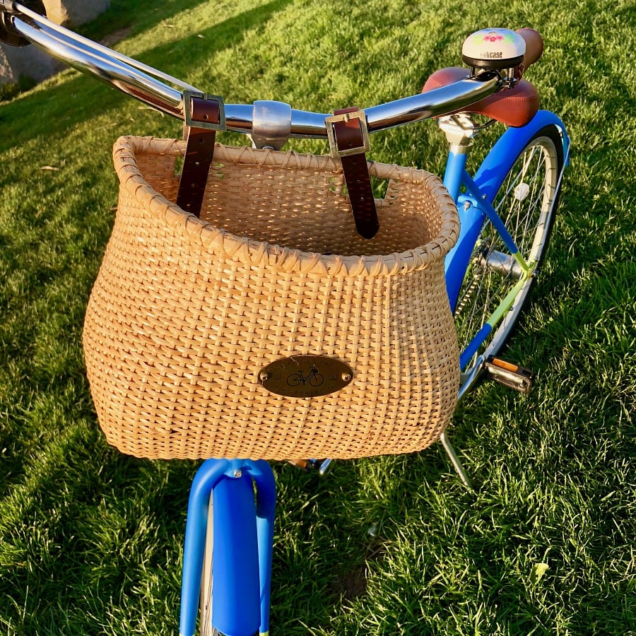 nantucket lightship bike basket