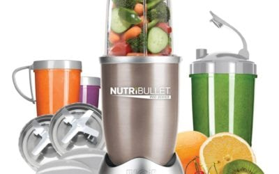 Travel Blender: NutriBullet Pro