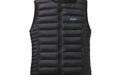 Patagonia Down Sweater Vest: Travel Must Have