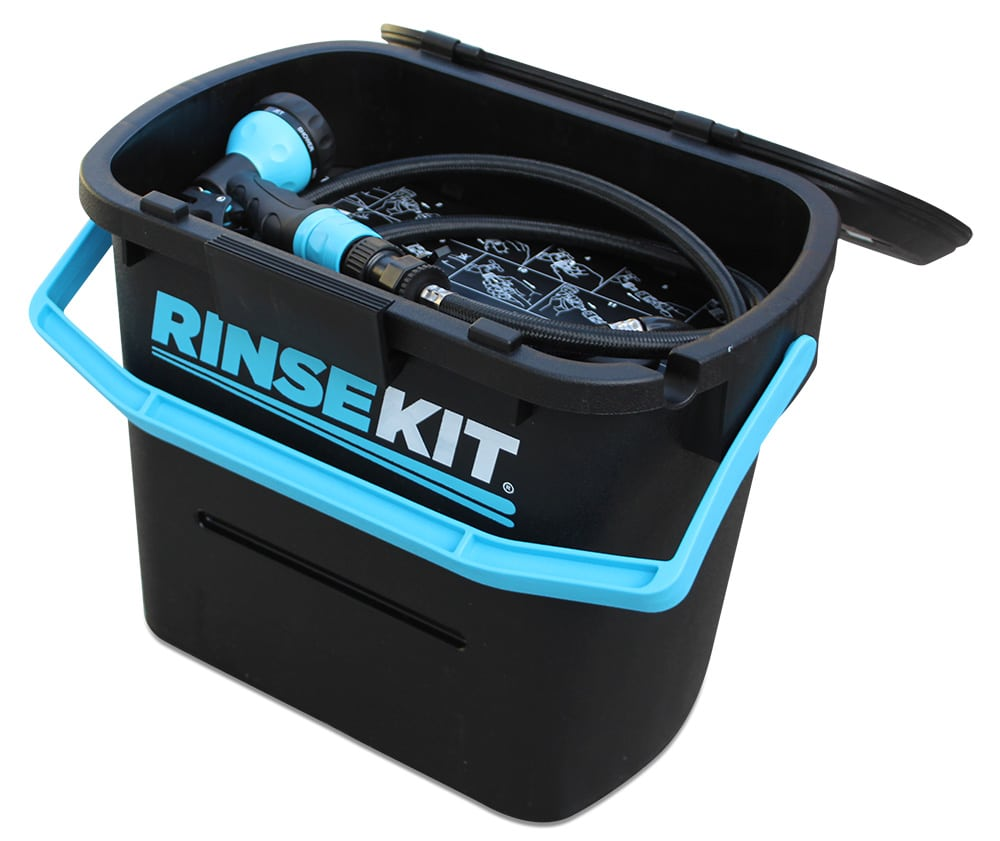 RinseKit: Instant Shower and Hose
