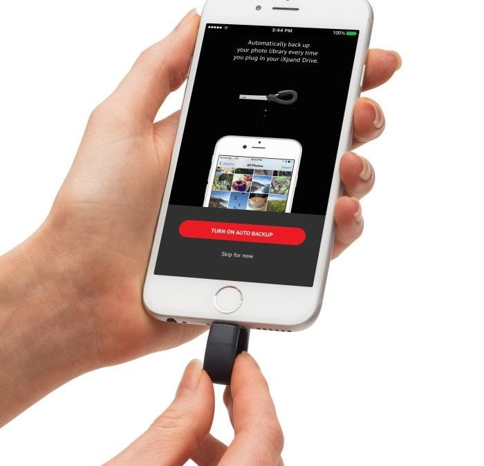 Sandisk iXpand Flash Drive: Storage on the Go