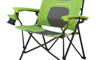 Strongback Elite Chair: Camp Luxury