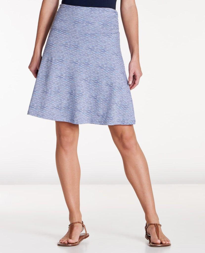 toad&co chaka skirt lilac wave