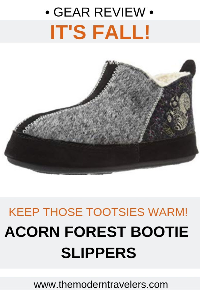 Acorn Forest Bootie Slipper Review, Best slippers for Fall.