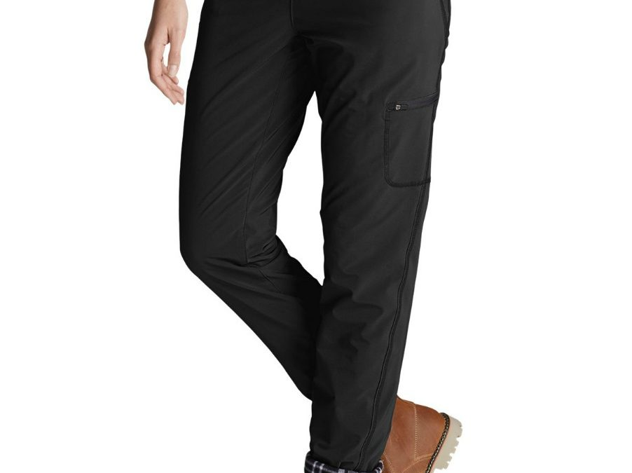 Eddie Bauer Polar Fleece Lined Pull On Pants Review: Best Winter Pants Ever!
