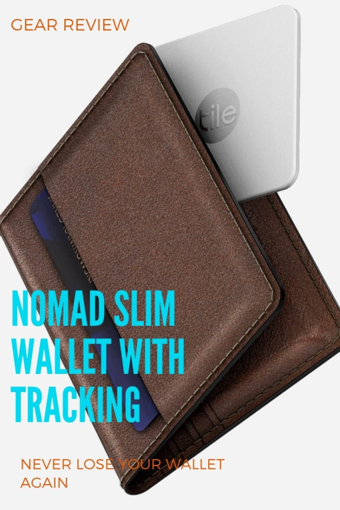 NOMAD SLIM WALLET Review, best wallets for travel, Wallet with Tracking, Smart Wallet