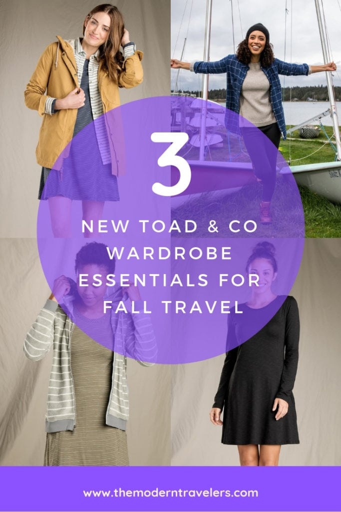 3 Mix and Match Toad & Co Wardrobe Essentials for Fall