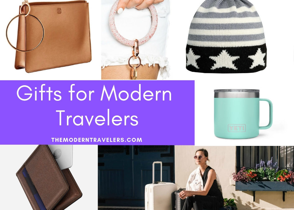 HOLIDAY GIFT GUIDE for MODERN TRAVELERS
