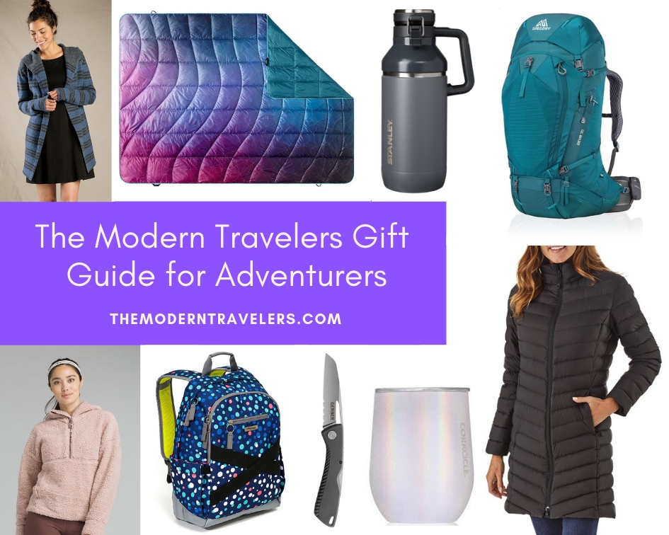 The Modern Travelers Gift Guide for Adventurers