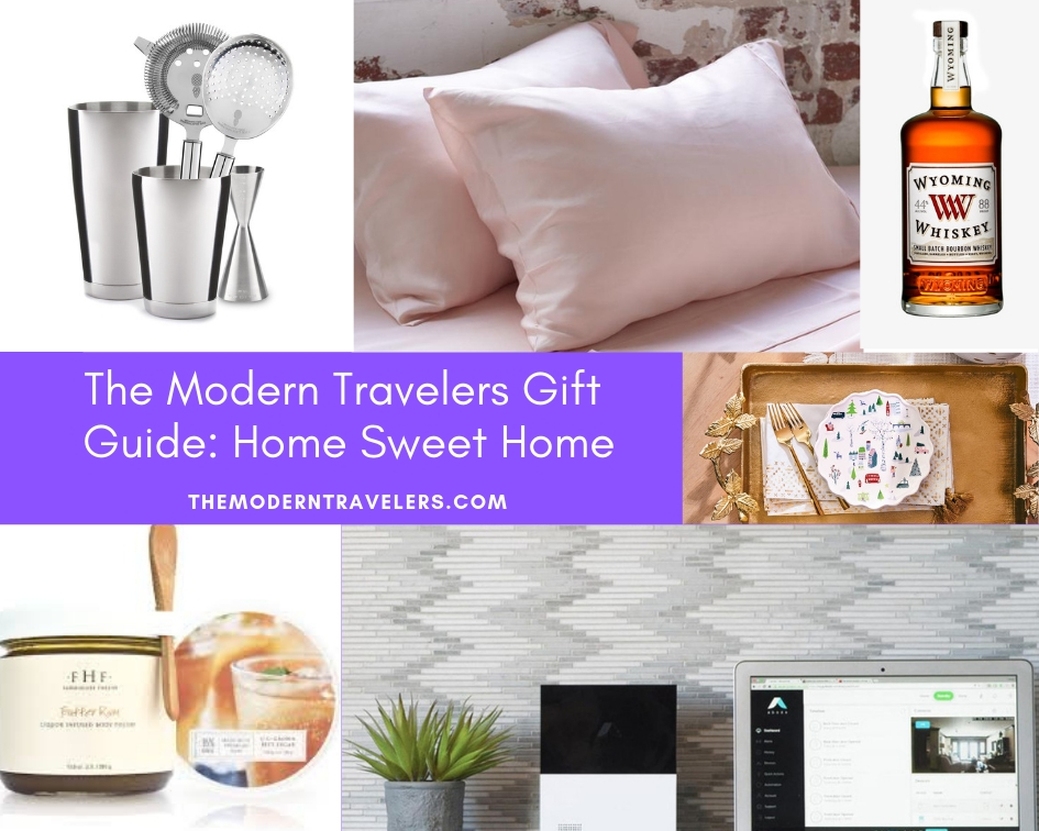 The Modern Travelers Gift Guide: Home Sweet Home